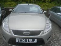 FORD MONDEO 1.6 Edge 5dr 125BHP, A NICE LOOKING MONDEO IN SILVER, BUT LOOKS MORE GOLD. (silver) 2009