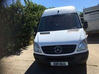 mercedes sprinter 313 mwb high roof.2011. only 37,000kms.1 owner.excellent runner