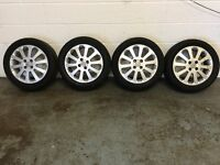 VAUXHALL ASTRA 16 inch ALLOY WHEELS FIT CAR VAN ESTATE SPORTIVE CDTI DTI LS ENVOY SRI SXI ALLOYS 16