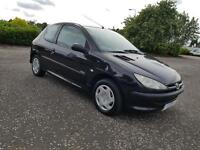 PEUGEOT 206 1.4 Urban 3dr Low Miles, Fresh Mot&Serviced+Warranted A Nice Looking Car (black) 2006