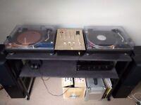 Technics SL-1210 MK2 Turntables + Complete DJ Setup
