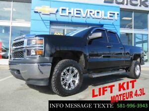 2014 CHEVROLET SILVERADO 1500 4WD DOUBLE CAB LIFT KIT 3 POUCES,