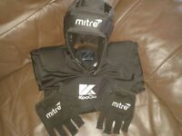 childrens mitre and kooga rugby protection