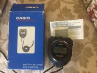 Casio Stopwatch