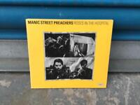 Very rare MANIC STREET PREACHERS ROSES IN THE HOSPITAL CD SINGLE COLUMBIA 1993 Vinyl Record ep SDHC