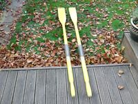 Pair of dingy oars for sale