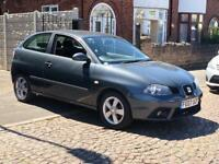 Seat Ibiza 1.2 Sport Reference 2007 3dr Grey 12 Months MOT 1 Owner