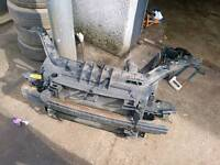 Ford fiesta front panel radiator aircon