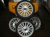 4 Ford Focus ally wheels and tyres