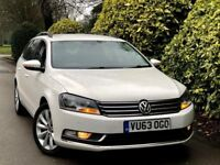**63PLATE+SATNAV** VOLKSWAGEN PASSAT 1.6 HIGHLINE TDI + FULL SERV HSTRY + TBELT DONE + 2 KEYS + MINT