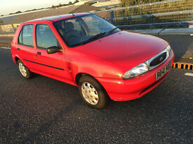 Future Classic Ford Fiesta 1.2 cc only 37,000 miles with Service History and old MOTs