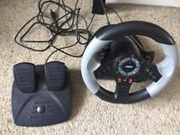 PS3 games and steering wheel