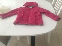 Girl pink jacket- perfect condition