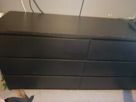 2 x sets of Ikea drawers