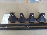 Thule roof bars and fixings for Ford Focus