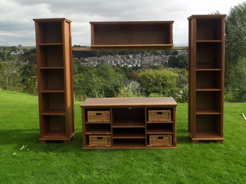 Ikea Markor Tv Unit And Shelves In Blairgowrie Perth And  # Meuble Tv Ikea Markor