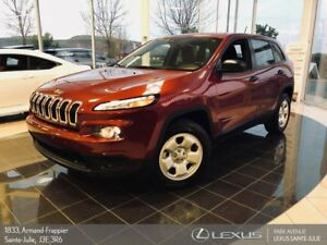 2016 Jeep Cherokee *NOUVEL ARRIVAGE* Sport *
