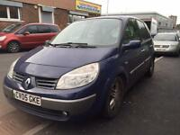 Renault Megane scenic 1.6 2005 - MPV - MOT&TAX - drives v.good - not zafira Picasso van estate opel
