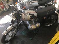 1966 matchless motor bike