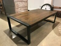 Beautiful Fletcher Coffee Table in Mango Wood
