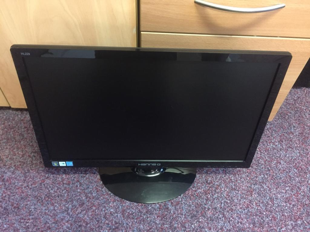 22inch wide screen led pc monitor.