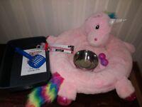 Kitten / Cat Accessories / starter pack - bed, bowls, litter tray, collar, toys