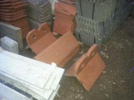Ceramic ridges, 1pound each