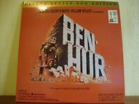 Ben Hur. NTSC laserdisc. Deluxe letterbox edition.
