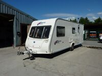 Bailey Pageant Champagne Touring Caravan & FREE Starter Pack