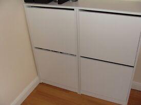 2 Shoe cabinets