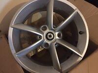 X4 Alloy wheels for Smart Car