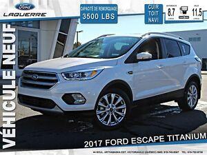 2017 Ford Escape **TITANIUM*112$/SEM*84 MOIS**