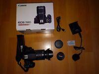Canon 700D DSLR Camera   18-55mm IS STM Lens   ND Filter