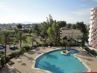 Mallorca - Puerto Alcudia - 2 Bed apartment with views to the coast.