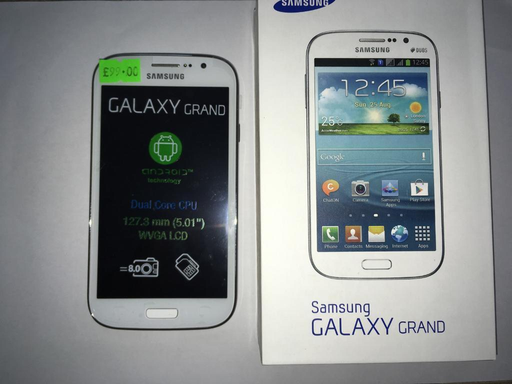 Samsung Galaxy Grand Brand New Dual Sim With all accessories