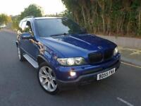 BMW X5 3.0 d BluePerformance Le Mans Blue Sport 5dr FSH+TV+XENON+SATNAV CALL 07479320160