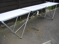 Banqueting table/barbecues/outdoor entertaining