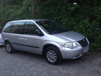 Chrysler Voyager for sale Diesel 2.5 CRD 7seater ,108k milage,year 2005
