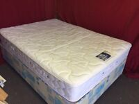 DOUBLE DIVAN BED WITH REST ASSURED MATTRESS,CAN DELIVER