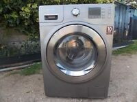 Samsung washer dryer 9kg load , eco bubble .
