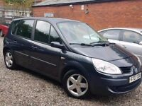 07 RENAULT SCENIC 1.5 DIESEL MPV - 130K - PX WELCOME