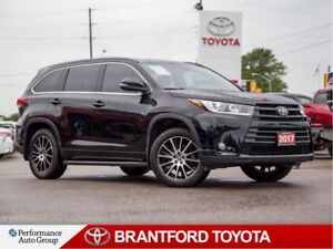 2017 Toyota Highlander XLE, SE Package, Off Lease, Blacked out!!
