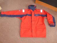 Henry Lloyd TP2000 Coastal Sailing Jacket Red/Navy - Size XL