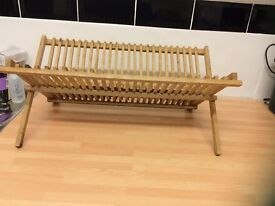Stylish Wooden Dish Drainer or Rack