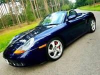 2001 Porsche boxster s lapis blue low mileage
