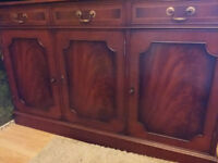 George style mahogany sideboard