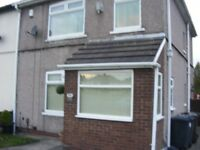 semi detached property 3 beds large corner plot