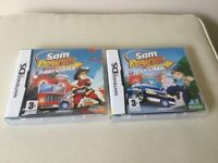 NINTENDO DS SAM POWER FIRE FIGHTER AND POLICEMAN