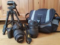 Nikon D5000 Digital SLR Camera + Kit