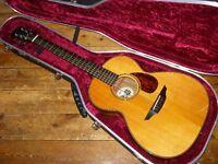 Brook Torridge acoustic 2013 with undersaddle pickup